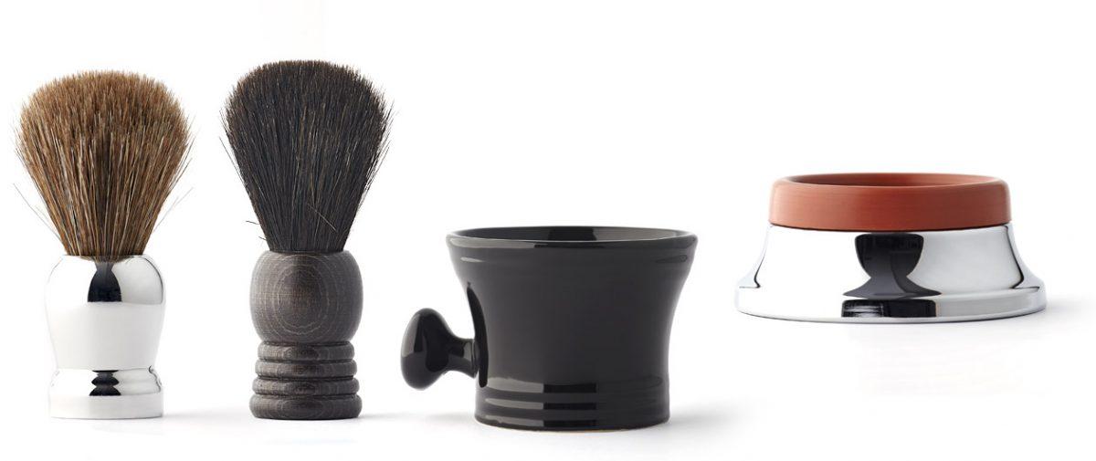 Vielong fabricante de brochas de afeitar de pelo natural de caballo, tejón